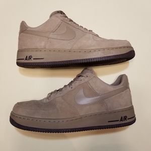 Nike Shoes - Men's Suede Nike Air Force Ones size 9